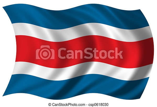 Flag of Costa Rica - csp0618030