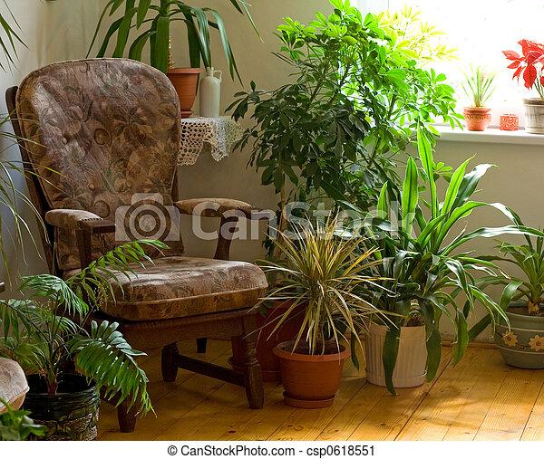 Cozy corner at home - csp0618551