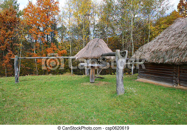 Buff-mill - Autumn Landscape - csp0620619