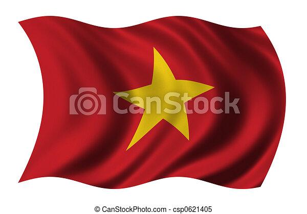 Flag of Vietnam - csp0621405