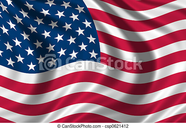USA Flag - csp0621412