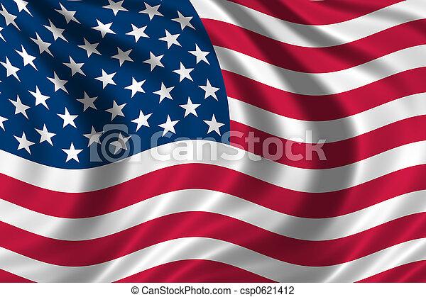 USA Flag - csp0621412