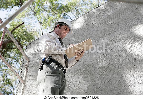 Building Inspector Notes - csp0621826