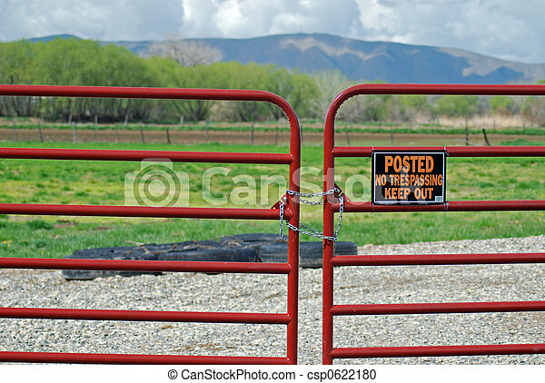 No Trespassing - csp0622180