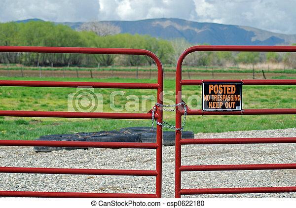 No Trespassing - csp0622180