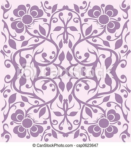 Wallpaper Pattern - csp0623647