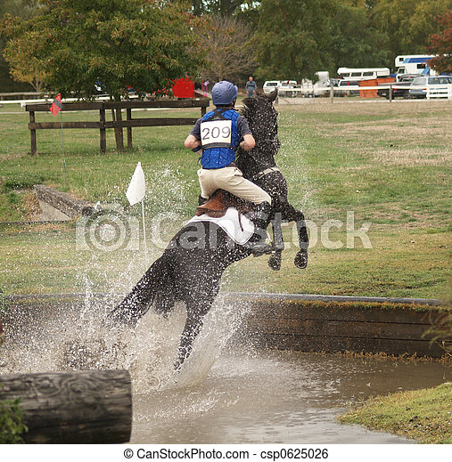 how to build a cross country water jump