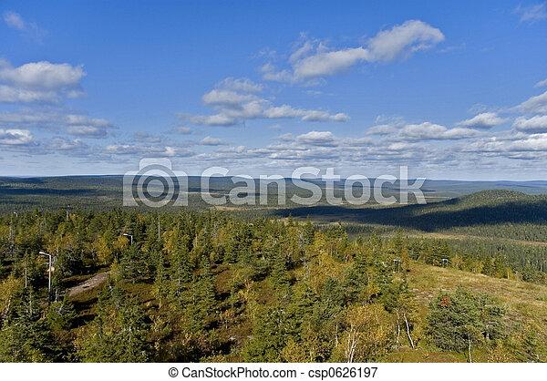 lapland, finland - csp0626197