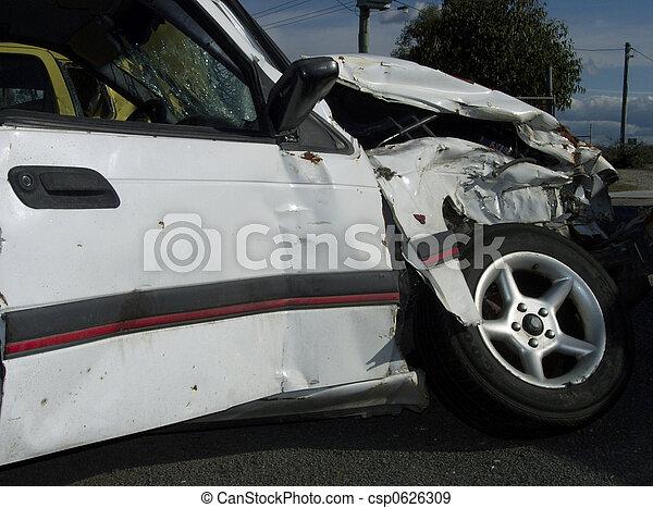 Car wreck - csp0626309