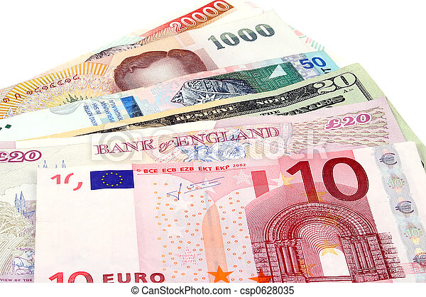 Global Currency - csp0628035