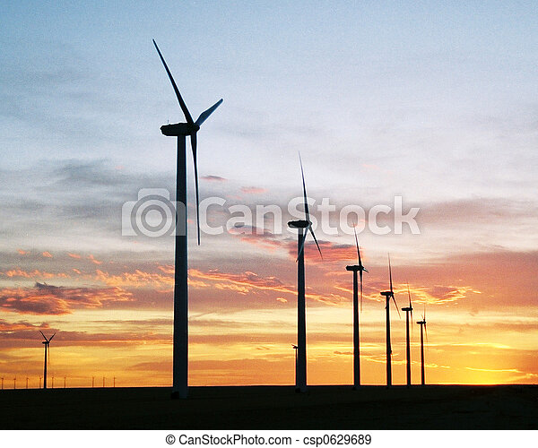 Energy Sunset - csp0629689