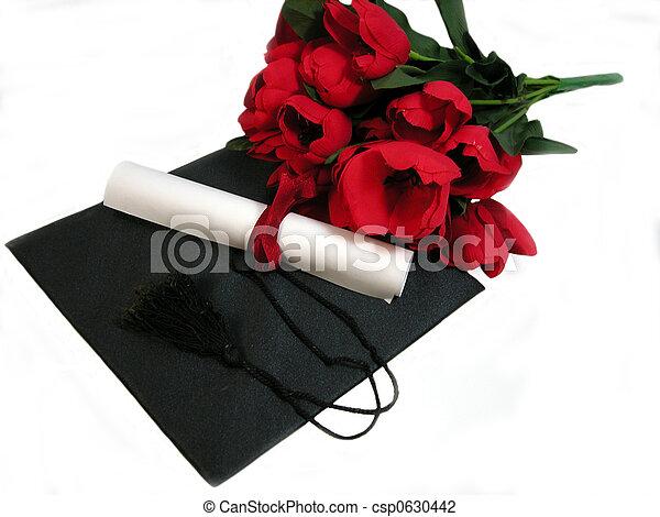 flores, graduación - csp0630442