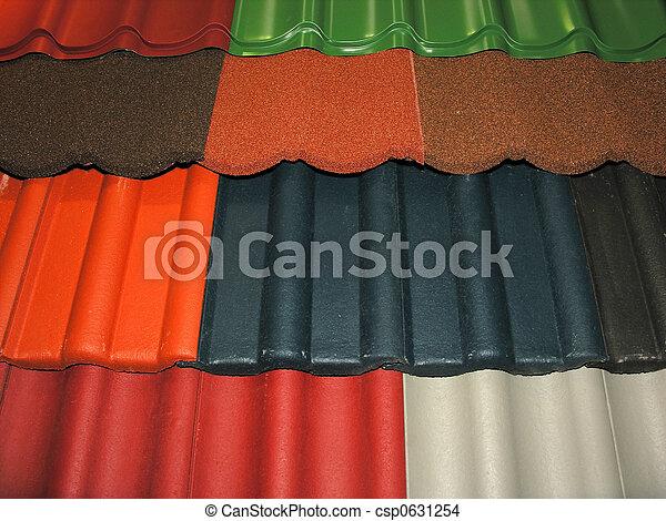 Roof Tiles - csp0631254