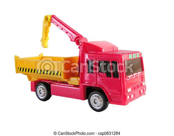 photo de camion grue jouet csp0631284 recherchez des images des photographies et des cliparts. Black Bedroom Furniture Sets. Home Design Ideas