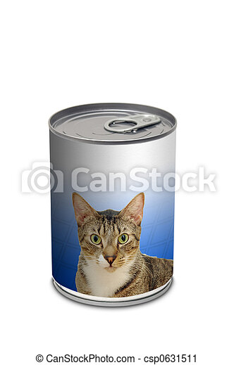 Cat food can - csp0631511