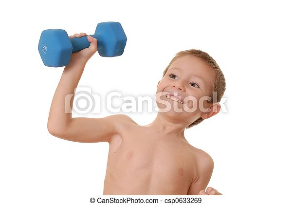 Health and Fitness Boy 12 - csp0633269