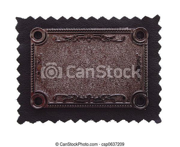 copper carving background on black fabric - csp0637209