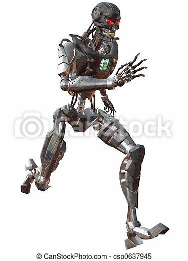 Cyborg 3000-Run - csp0637945
