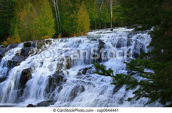 Bond Water Falls  - csp0644441