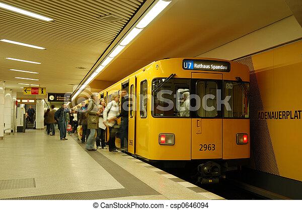 Metro Station - csp0646094