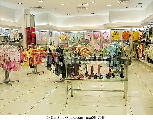 child clothes shop - csp0647961
