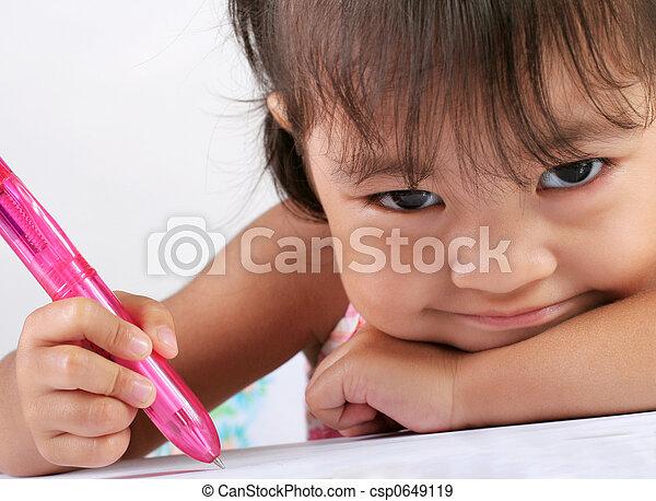 Preschooler - csp0649119