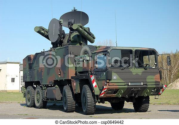 Military Truck - csp0649442