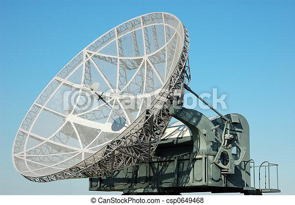 militär, satellit,  D - csp0649468