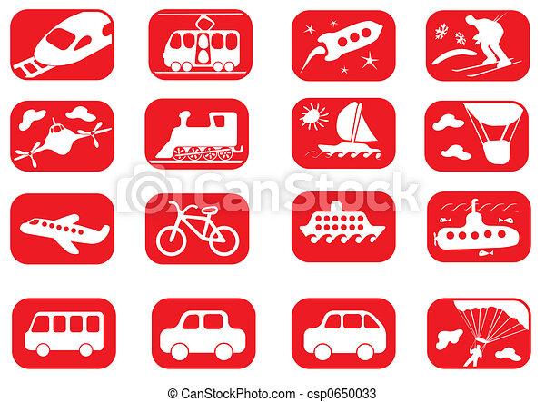 Transportation icon set - csp0650033