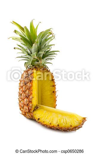 sliced pineapple - csp0650286