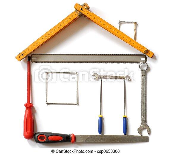 Hus, redskapen - csp0650308