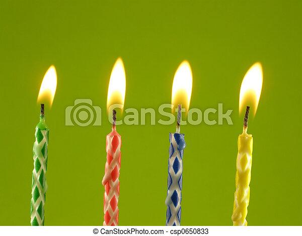 蜡燭, 生日 - csp0650833