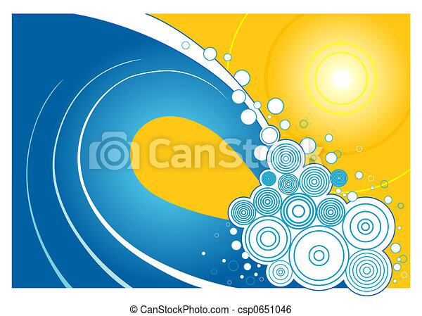 Summer Wave - csp0651046