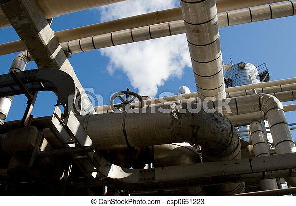 Industrial Refinery - csp0651223