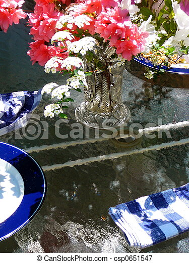 Garden Luncheon - csp0651547