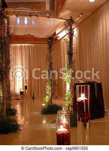 Stock Photo Jewish Wedding Chuppah Jewish Wedding Chuppah csp0651555