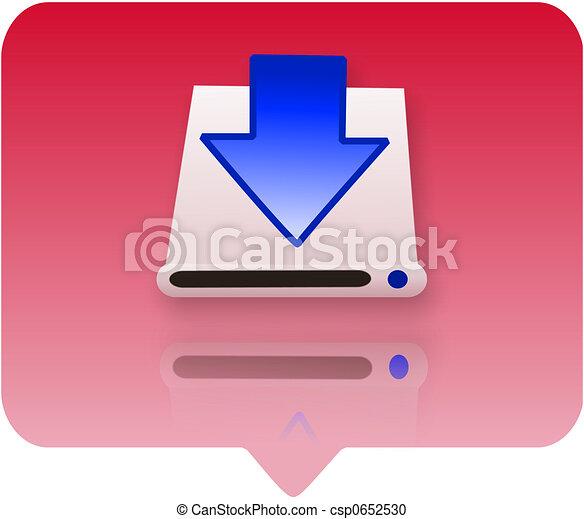 computer symbol - hardware - csp0652530
