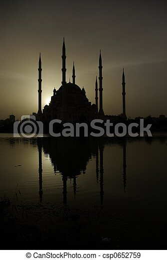 The Adana Mosque - csp0652759