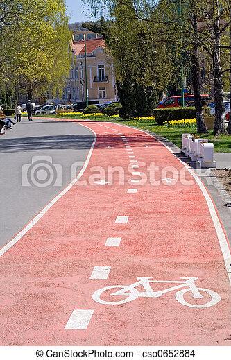 Bikers lane - csp0652884