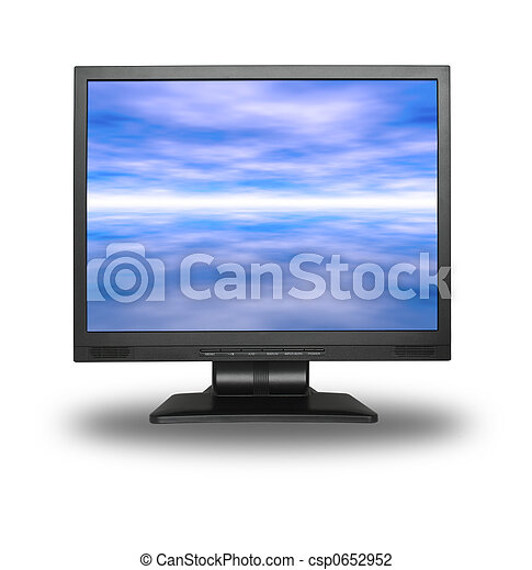 LCD with sky - csp0652952