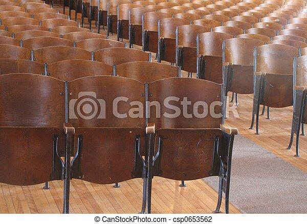 Front Row seats - csp0653562