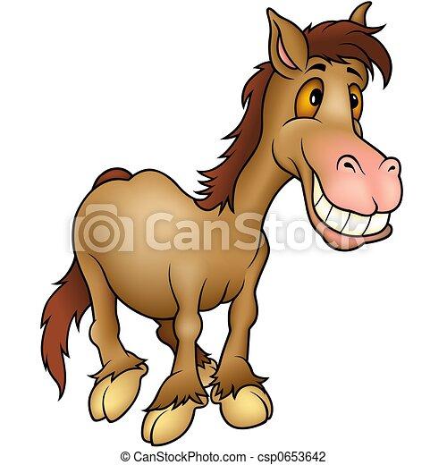 Horse humourist - csp0653642