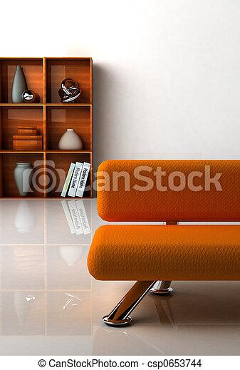 Modern interior - csp0653744