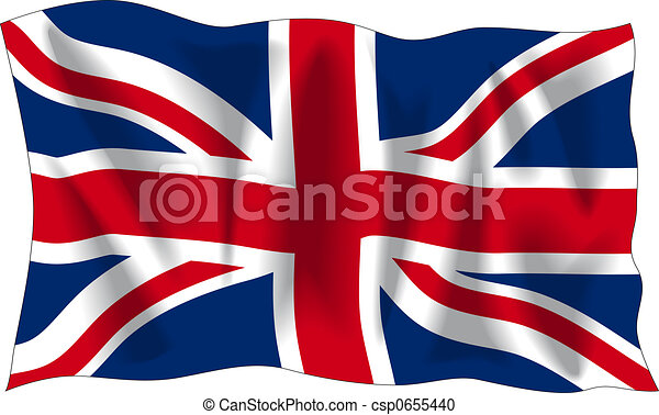 Flag of United Kingdom - csp0655440