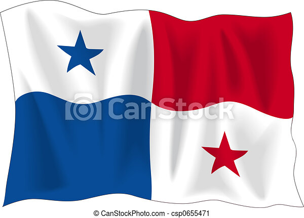 Flag of Panama - csp0655471