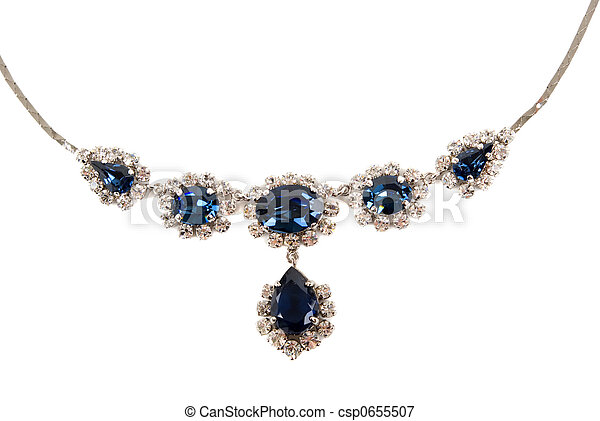Sapphire Necklace - csp0655507