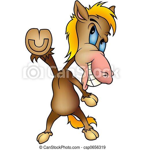 Standing Horse - csp0656319