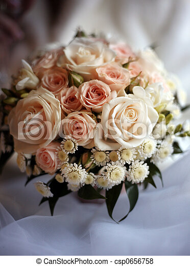 Wedding bouquet - csp0656758