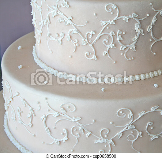 wedding cake - csp0658500