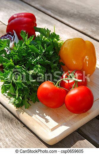 Fresh vegetables - csp0659605